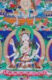 Buddha del thangka Fotografia Stock