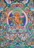 Buddha del thangka Immagine Stock