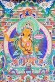 Buddha del thangka Immagine Stock Libera da Diritti