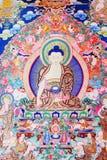 Buddha del thangka Immagini Stock Libere da Diritti