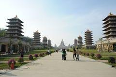 Buddha-Denkmal-Mitte Lizenzfreies Stockfoto