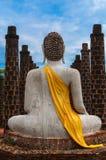 Buddha in der alten Stadt Lizenzfreie Stockbilder