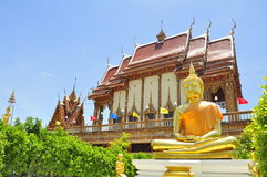 Buddha der Beleuchtung Lizenzfreies Stockbild