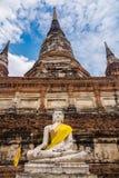 Buddha in der Meditation Stockbild