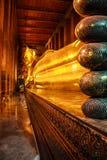 Buddha der Statue in Wat Pho Lizenzfreie Stockfotografie