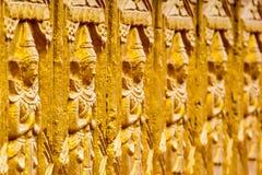 Buddha, der Thailand schnitzt Lizenzfreie Stockbilder