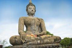 Buddha an der Welterbe-Site, Sukhothai Stockfotografie