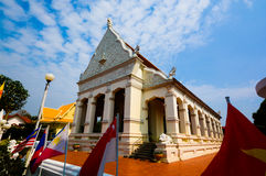 Buddha des Tempels bei Ubon Thailand Stockfotografie