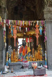 Buddha  in Dhyana mudra mediation Stock Photo