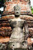 Buddha di Ayutthaya Fotografia Stock Libera da Diritti