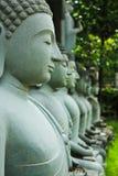 Buddha di pietra Immagine Stock