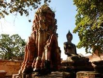 Buddha di pietra Immagini Stock Libere da Diritti