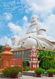 Buddha di risata del Pagoda di Vinh Trang, Vietnam Fotografia Stock Libera da Diritti