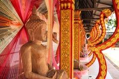 Buddha di scultura di pietra fotografie stock libere da diritti