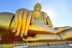 Buddha di seduta Fotografie Stock Libere da Diritti