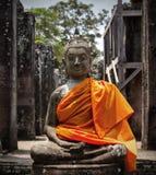 buddha diagram sitting Royaltyfria Bilder