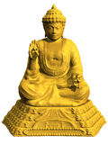 buddha diagram sitting Arkivfoton