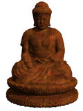 buddha diagram sitting Arkivfoto