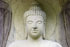 buddha diagram sitting Royaltyfria Foton