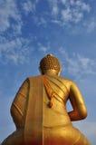 Buddha dietro immagini stock
