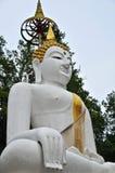 Buddha Dio sulla parte posteriore di bianco Fotografia Stock Libera da Diritti