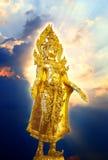 Buddha diritto ornato Immagini Stock