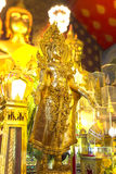 Buddha diritto ornato Fotografia Stock Libera da Diritti