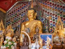 Buddha in Chiang Mai, Doi Sutep Temple stock photography