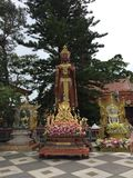Buddha at the Doi Suthep stock photography