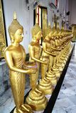 Buddha Donation Statues Royalty Free Stock Photos