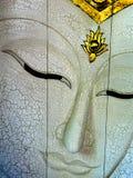 Buddha dorato affronta Fotografia Stock Libera da Diritti