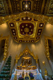 Buddha dorato, Bangkok, Tailandia Fotografia Stock