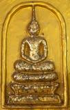 Buddha dorato classico Immagini Stock Libere da Diritti