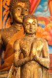 Buddha dorato diritto immagini stock