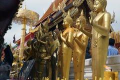 Buddha dorato Doi Suthep Chiang Mai Immagini Stock