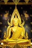 Buddha dorato nel simbolo di Thailand fotografia stock libera da diritti