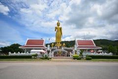Buddha dorato a Songkhla, Tailandia Fotografie Stock Libere da Diritti