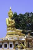 Buddha dorato tailandese Fotografia Stock