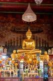 Buddha dorato tailandese Immagini Stock