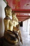 Buddha dorato tailandese Immagine Stock
