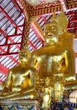 Buddha dorato Tailandia Fotografie Stock