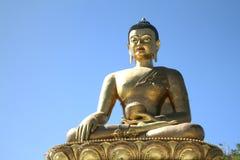 Buddha Dordenma statua na niebieskiego nieba tle, gigant Buddha, Thi obraz royalty free