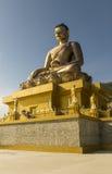 Buddha Dordenma statua w Thimphu Bhutan fotografia royalty free