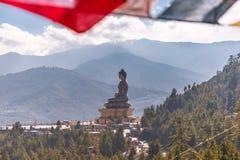 Buddha Dordenma statua w Thimphu, Bhutan zdjęcie royalty free