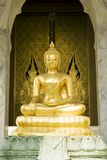 Buddha dourado imagens de stock