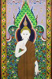 Buddha drawing Royalty Free Stock Images