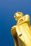 Buddha duży Złota statua Obrazy Royalty Free