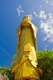 Buddha duży Złota statua Zdjęcia Stock