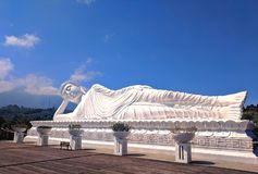 Buddha durmiente fotos de archivo libres de regalías
