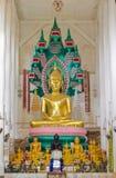 buddha dziąseł na siedem statua Fotografia Stock